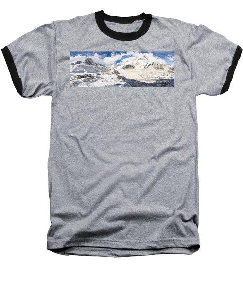 Stunning Nepal - Ebc Baseball T-Shirt