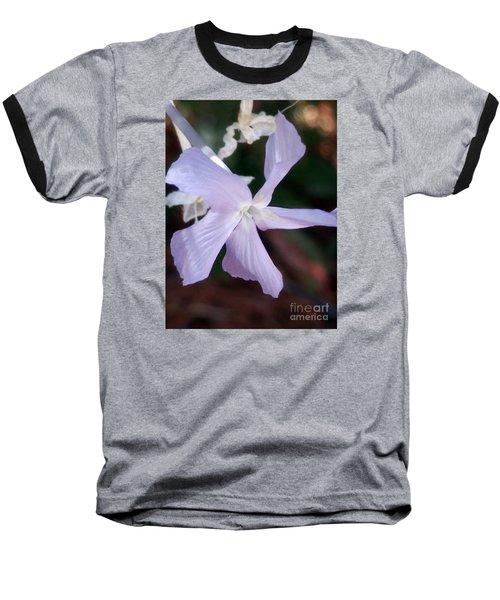 Stunning New Mexico Purple Wildflower Baseball T-Shirt
