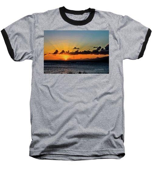 Stunning Sunset Baseball T-Shirt
