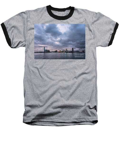 Stunning Sunset Over Kowloon In Hong Kong Baseball T-Shirt