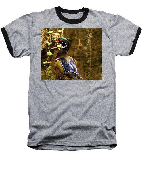 Stunning Wood Duck Baseball T-Shirt