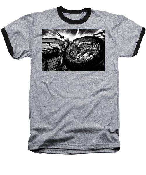 Stunt Bike Baseball T-Shirt