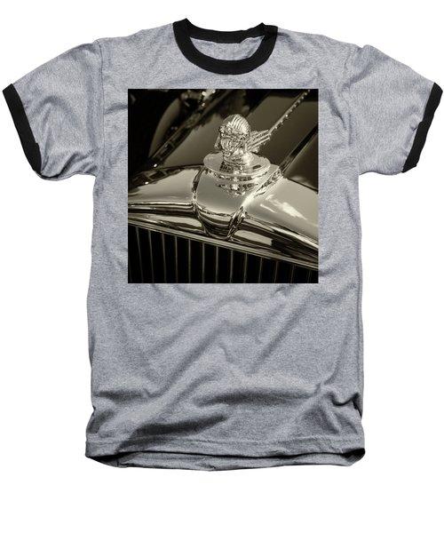 Stutz Hood Ornament Baseball T-Shirt