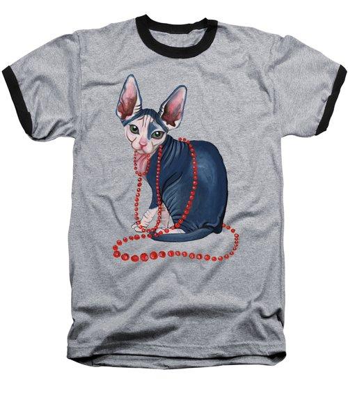 Stylish Sphynx Baseball T-Shirt