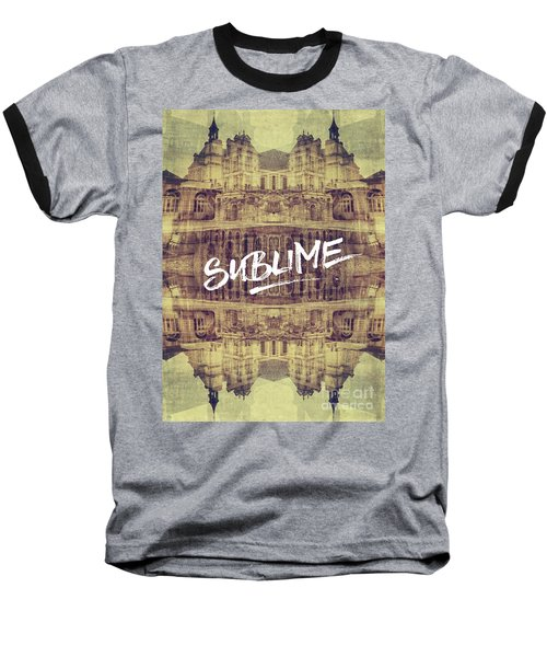 Sublime Fontainebleau Chateau France French Architecture Baseball T-Shirt