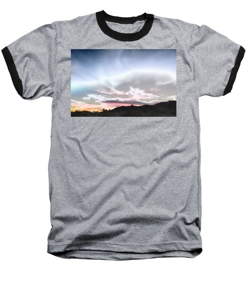 Submarine In The Sky Baseball T-Shirt