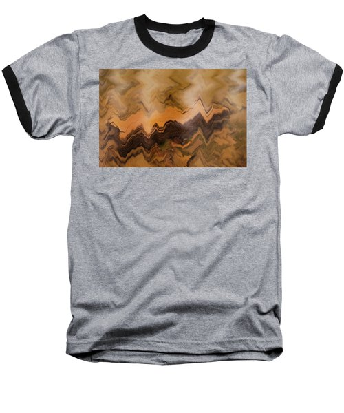 Submerged Railroad Tie Baseball T-Shirt