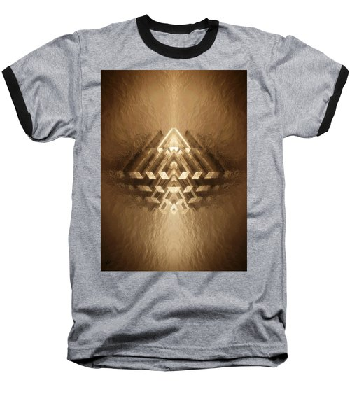 Subtle Geometrix Baseball T-Shirt