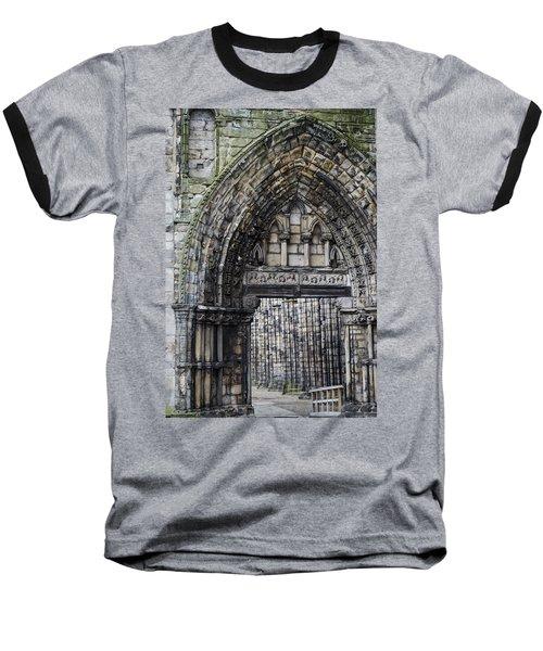 Subtle Shades Of Stone Holyrood Edinburgh Scotland Baseball T-Shirt