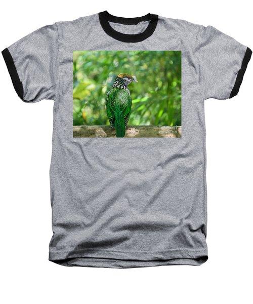 Subtropical Forest Dweller Baseball T-Shirt