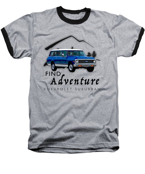 Suburban Adventure Baseball T-Shirt