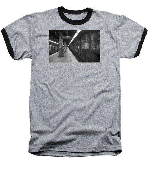 Subway At Grand Central Baseball T-Shirt