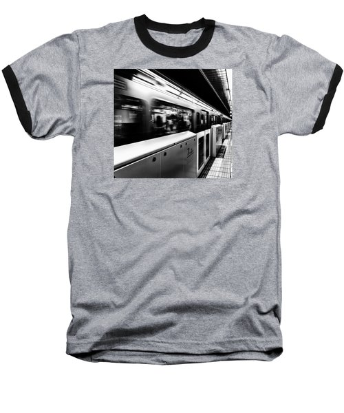 Subway Baseball T-Shirt