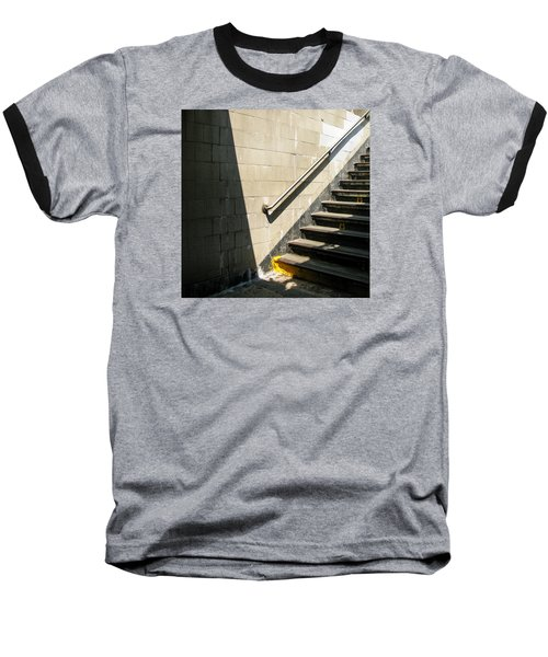 Subway Stairs Baseball T-Shirt