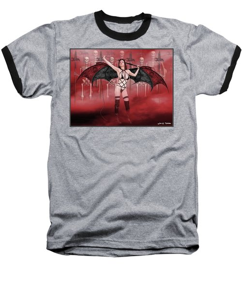Succubus And Army Baseball T-Shirt