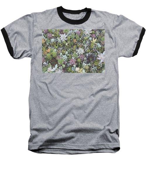 Succulent 8 Baseball T-Shirt