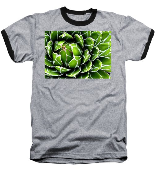 Baseball T-Shirt featuring the photograph Succulent In Color by Ranjini Kandasamy