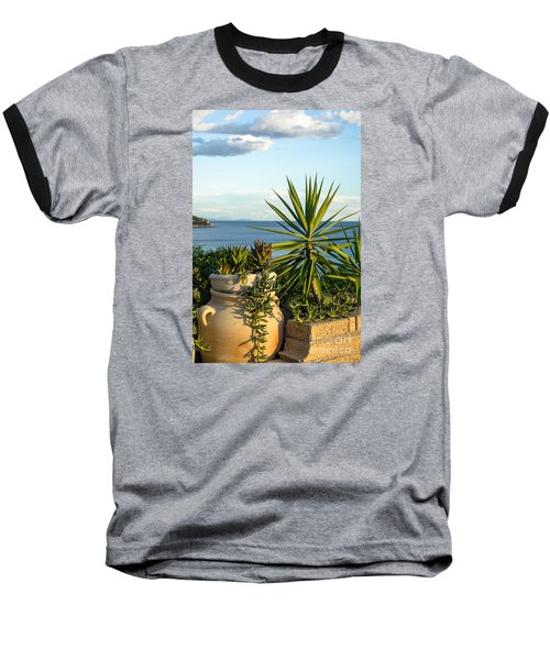 Succulents By The Sea Baseball T-Shirt