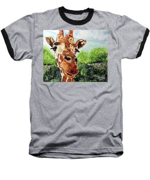 Baseball T-Shirt featuring the painting Such A Sweet Face by Tom Riggs