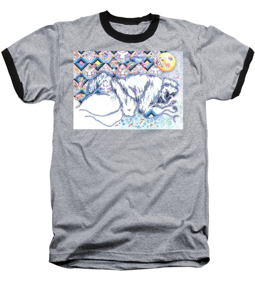 Suenos De Invierno Winter Dreams Baseball T-Shirt