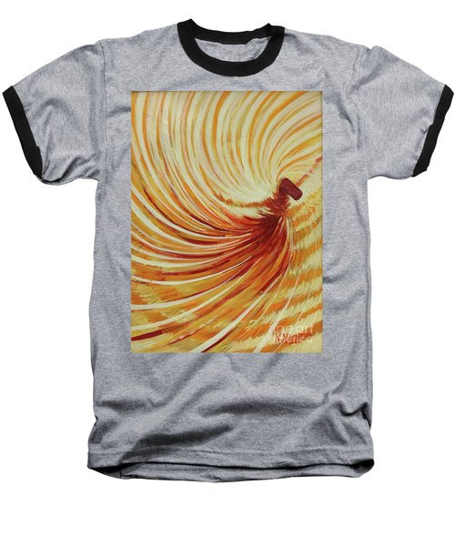 Baseball T-Shirt featuring the painting Sufi-2 by Nizar MacNojia