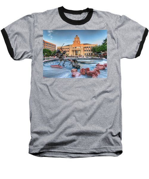 Sugar Land Town Center Baseball T-Shirt