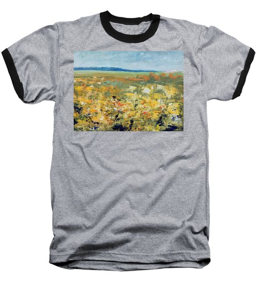 Suggestion Of Flowers Baseball T-Shirt