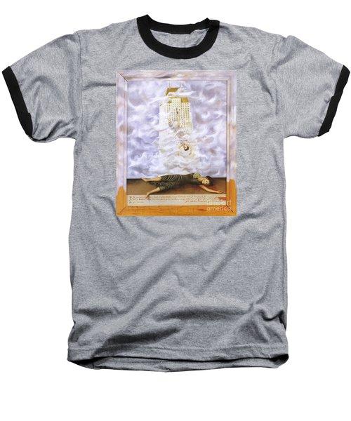 Suicide Of Dorothy Hale Baseball T-Shirt by Frida Kahlo