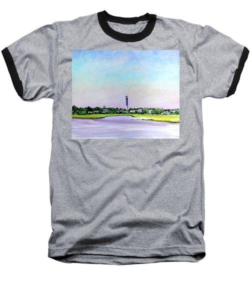 Sullivans Island Lighthouse Baseball T-Shirt