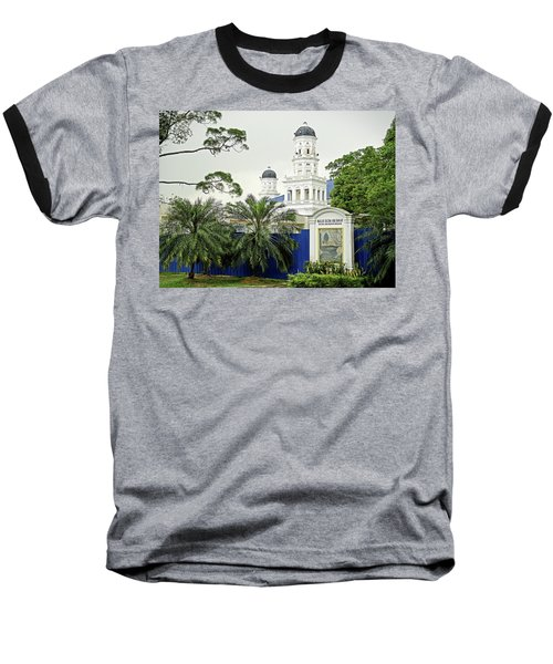 Sultan Abu Bakar Mosque Baseball T-Shirt