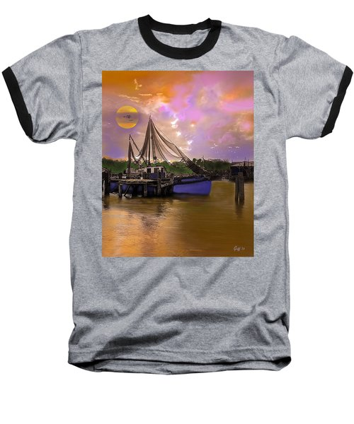 Sultry Bayou Baseball T-Shirt by J Griff Griffin