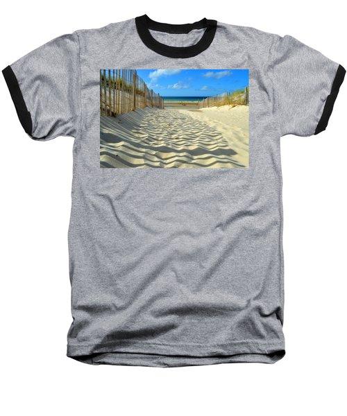 Sultry September Beach Baseball T-Shirt