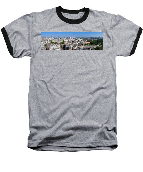 Sumer Panorama Of London Baseball T-Shirt