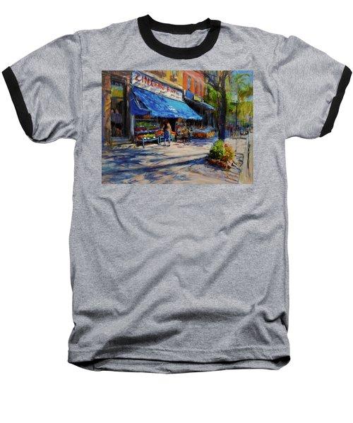Summer Afternoon, Columbus Avenue Baseball T-Shirt
