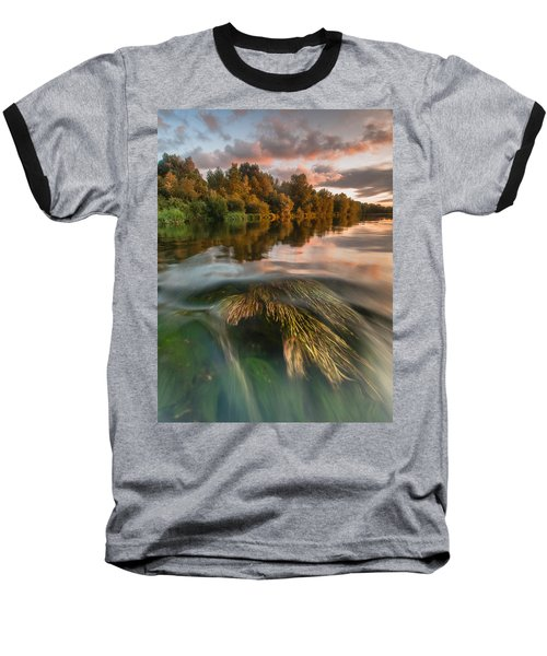 Summer Afternoon Baseball T-Shirt by Davorin Mance