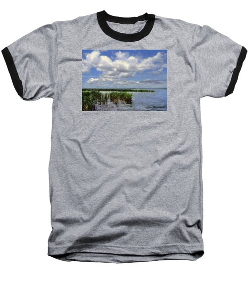 Summer Along Angler's Bay Baseball T-Shirt