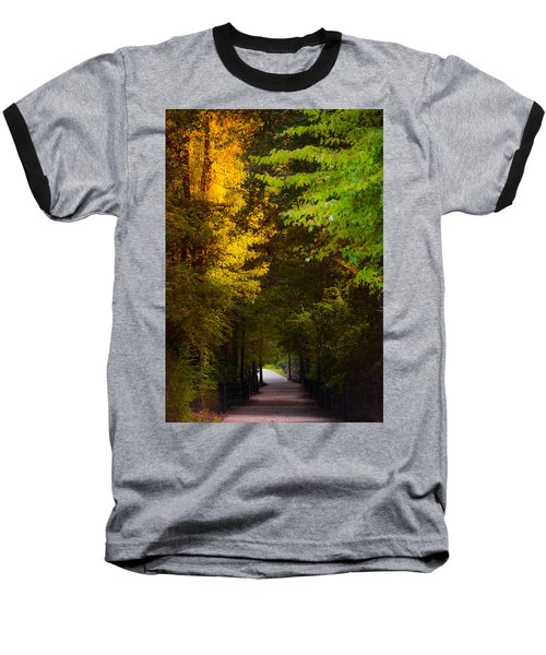 Summer And Fall Collide Baseball T-Shirt