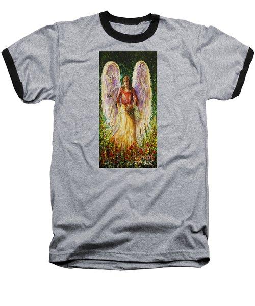 Summer Angel Baseball T-Shirt
