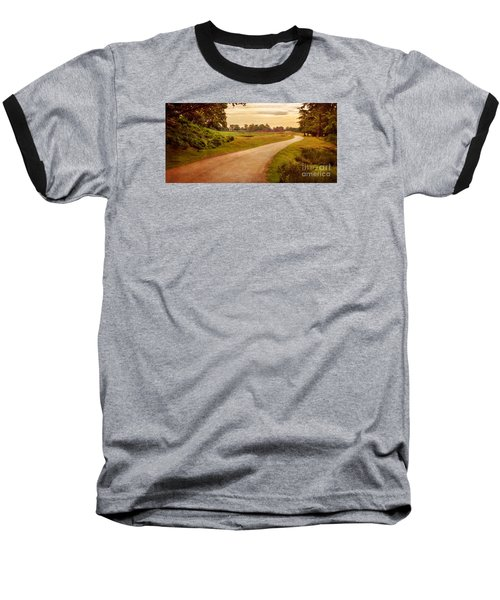 Summer At Bradgate Park Leicestershire Baseball T-Shirt by Linsey Williams