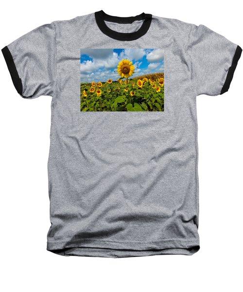 Summer At The Farm Baseball T-Shirt