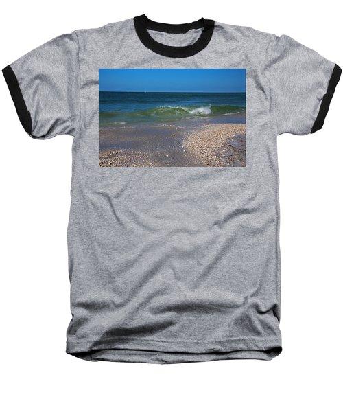 Baseball T-Shirt featuring the photograph Summer At The Shore by Michiale Schneider