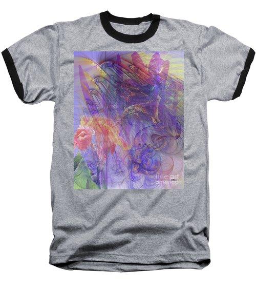 Summer Awakes Baseball T-Shirt by John Robert Beck