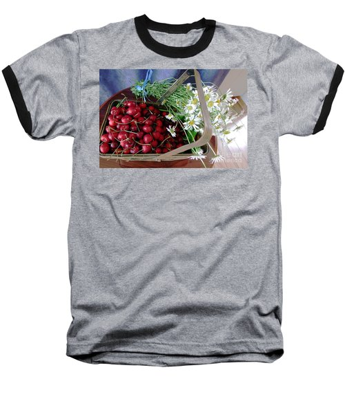 Baseball T-Shirt featuring the photograph Summer Basket by Vicky Tarcau