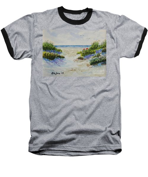 Summer Beach Baseball T-Shirt