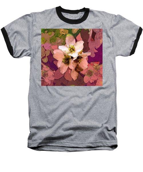 Summer Blossom Baseball T-Shirt