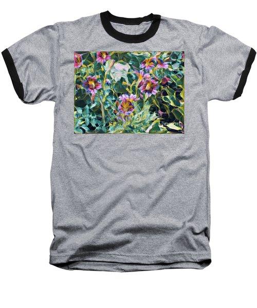 Summer Blossoms Baseball T-Shirt