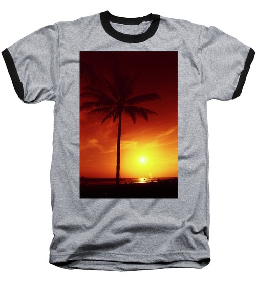 Summer By The Sea Baseball T-Shirt