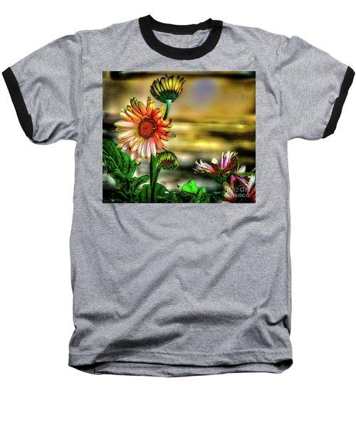 Summer Daisy Baseball T-Shirt