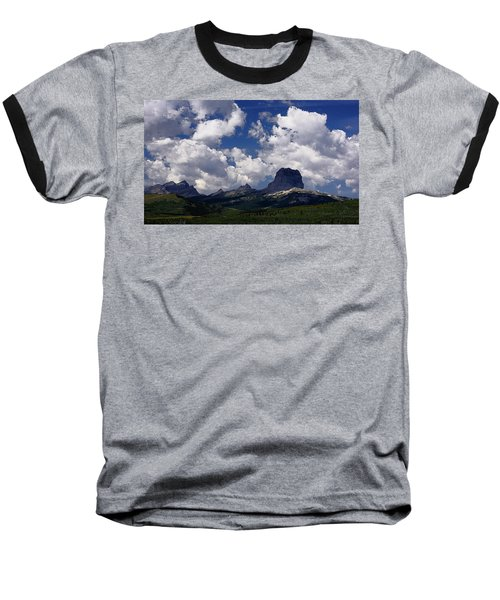 Summer Day At Chief Mountain Baseball T-Shirt