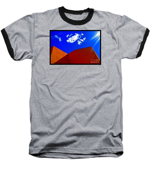 Baseball T-Shirt featuring the photograph Summer Day In The New World by Susanne Still